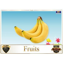 Flash Card Fruits - Pack of...