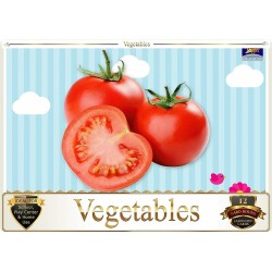 Flash Card Vegetables -...