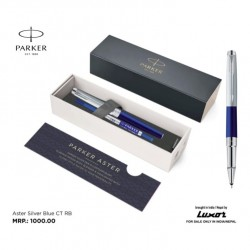 Parker Aster Silver Blue CT...