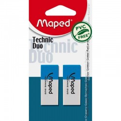 Eraser Maped Technic Duo...