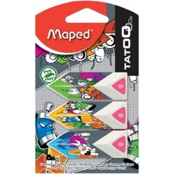 Eraser Maped Tatoo 3Pcs...