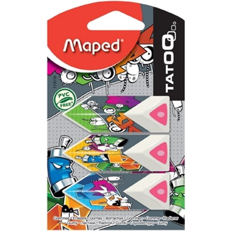 Rubber Artist Drawing Craft Accessories 2 Pack Maped Softy Eraser 2 Pack