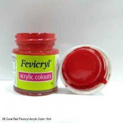 66 Coral Red Fevicryl...